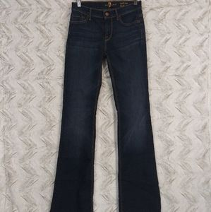 7FAM Mid Rise Bootcut Jeans 26